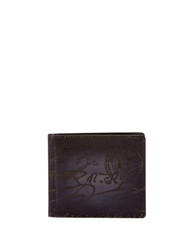 Men's Nero Scritto Clip Bifold Wallet
