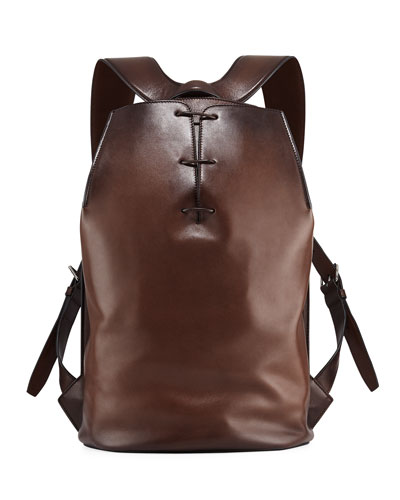 Men's Alessandro Vitello Side-Zip Backpack