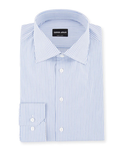 Men's Shadow-Striped Cotton Dress Shirt. Add to Favorites Add to Favorites.  Quick Look. Giorgio Armani