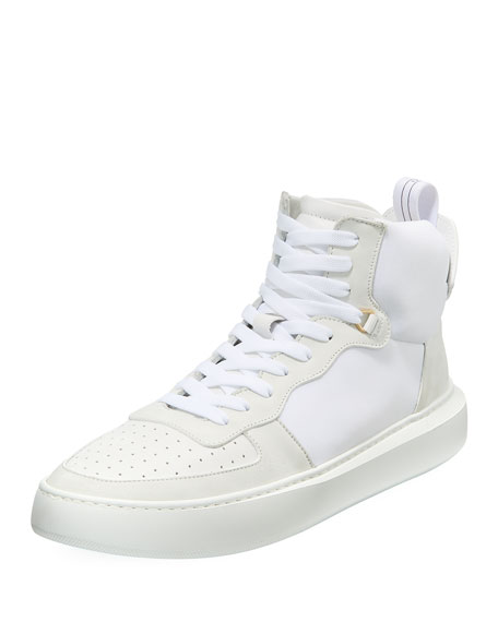 Men's Uno Basket Leather High-Top Sneaker