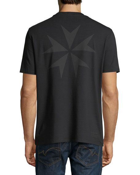 Men's Military Star Graphic T-Shirt