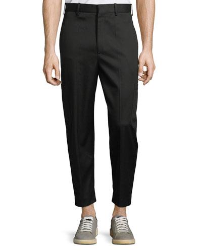 Men's Multi-Pocket Cotton-Blend Pants