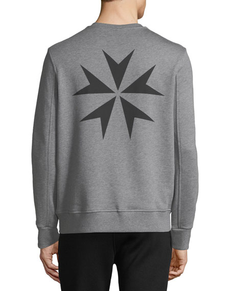Men's Military Star Sweatshirt
