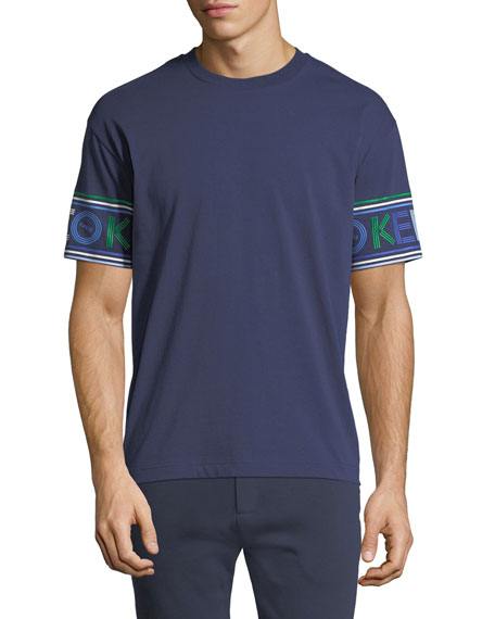 Kenzo Men's Logo-Cuff Sport T-Shirt and Matching Items