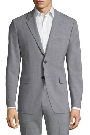 Theory Men's Chambers New Tailored Wool Jacket
