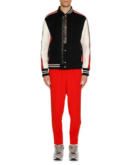 Men's Colorblock Varsity Jacket