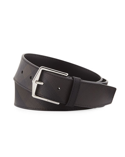 Men's Joe London Check Belt