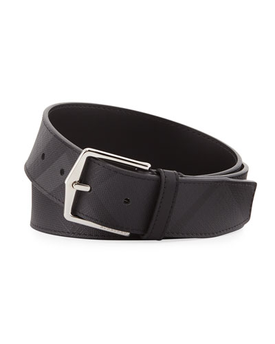 Men's Joe Tonal London Check Belt