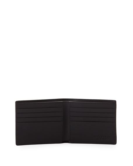 Men's Haymarket Check Bifold Wallet