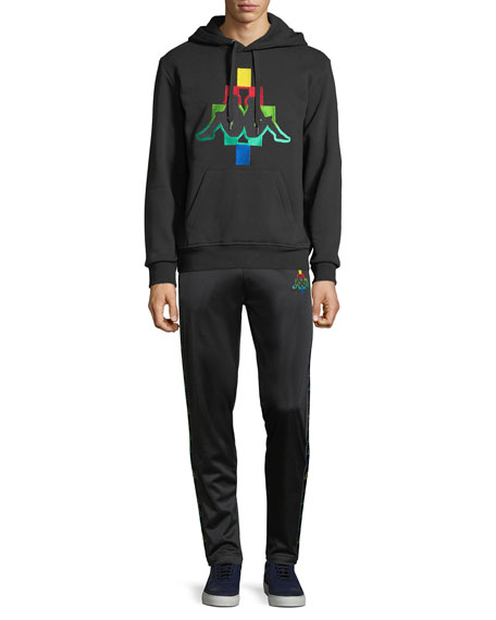 Multicolor Kappa Straight-Leg Jersey Sweatpants