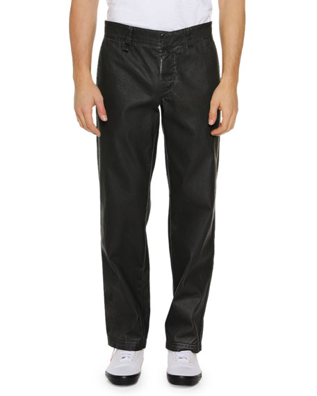 Off-White Men's Straight-Leg Cotton Chino Pants