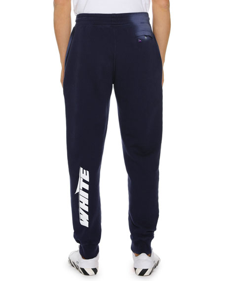 Men's Wing Off Cotton Sweatpants