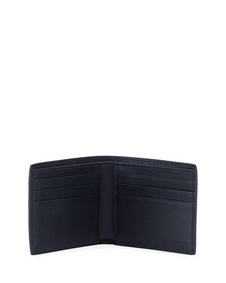 Men's Signature Check Bifold Wallet