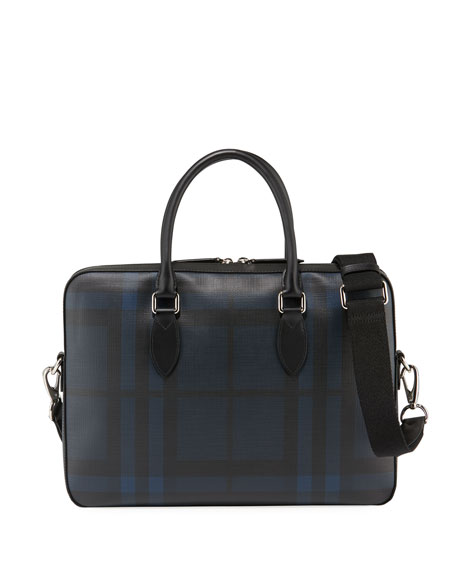Men's Hambleton Faux-Leather Briefcase
