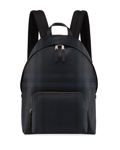 Men's Abbeydale Check Backpack