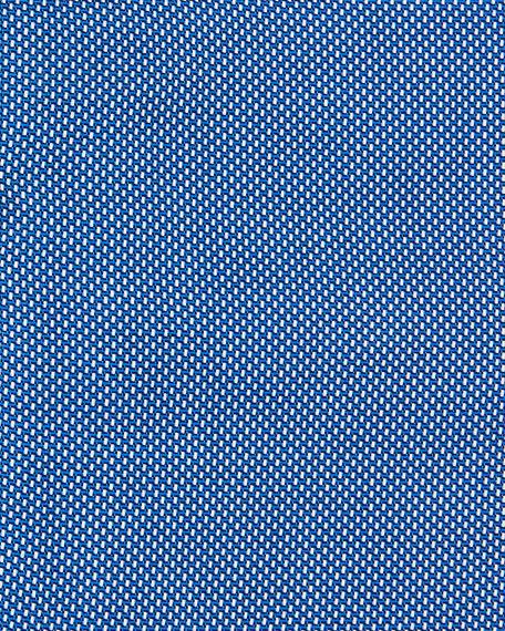 Men's Slim Fit Small Dots Dress Shirt