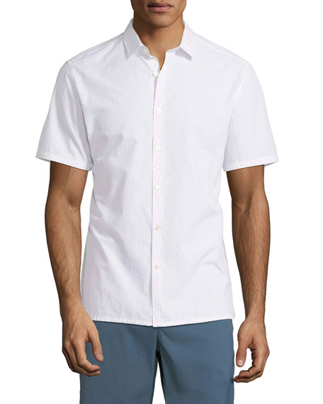 Men's Coupe Murray Ripstop Short-Sleeve Sport Shirt