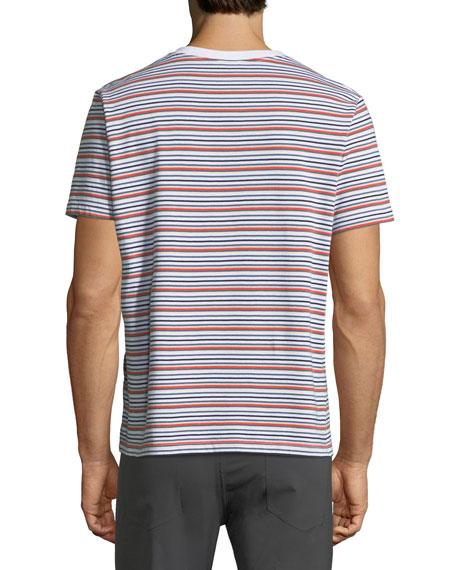 Men's Surfer Striped Classic T-Shirt