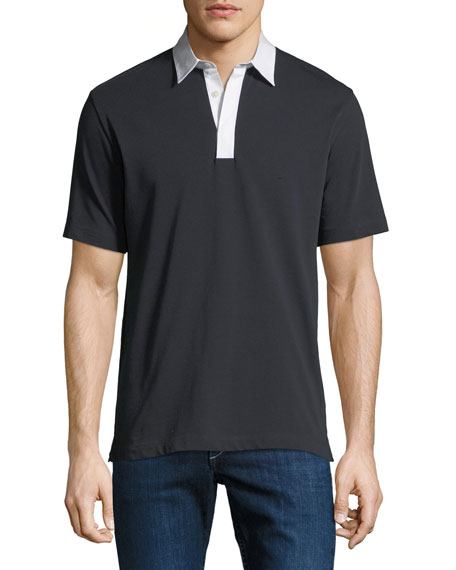 Men's Rope Jersey Rugby Polo Shirt