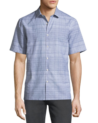 Men's Murray Crosshatch Short-Sleeve Sport Shirt
