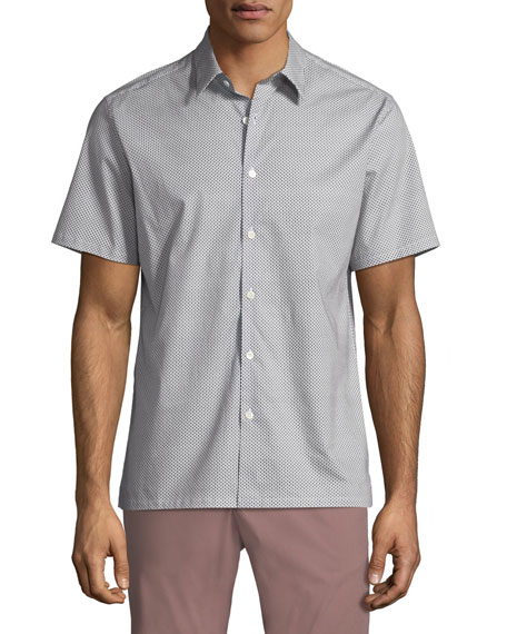 Men's Bayliss Irving Short-Sleeve Sport Shirt