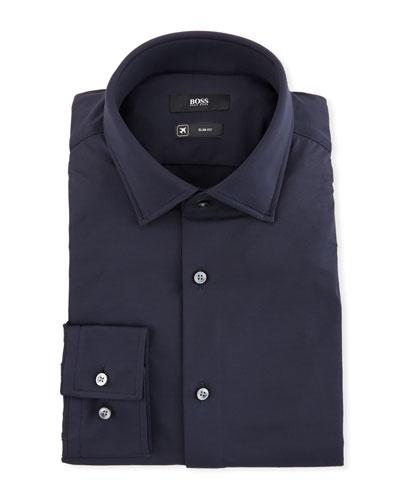 Men's Slim Fit Stretch-Performance Dress Shirt