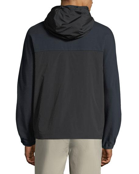 Men's Caliber Terry Combo Tech Hoodie Jacket