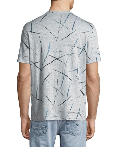 Men's Kelton Slash-Print Jersey T-Shirt