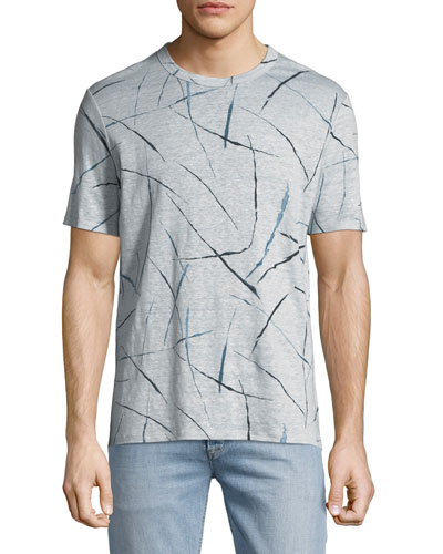 Men's Kelton Slash-Print Jersey T-Shirt