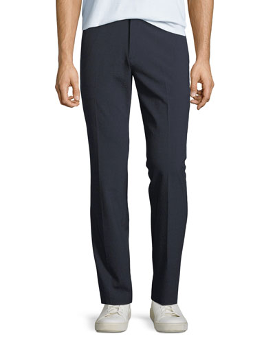 Men's Mayer Function Seersucker Straight-Leg Pants