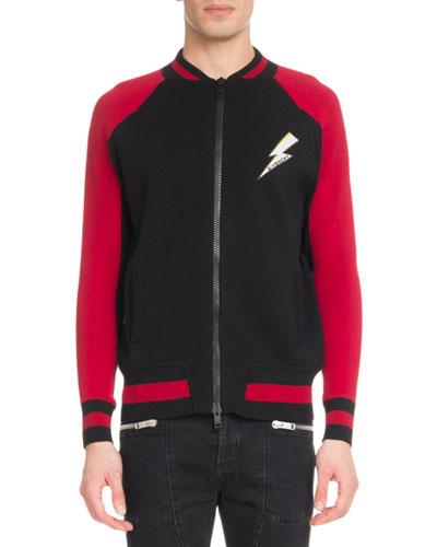 Men's Lightning Zip-Front Jacket