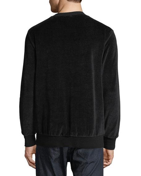 Men's Velvet Crewneck Sweatshirt