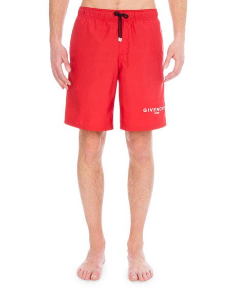 Givenchy Men's Logo Swim Trunks