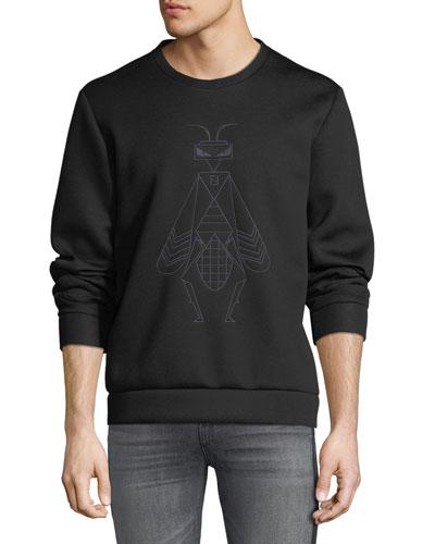Men's Super Bugs Embroidered Sweatshirt