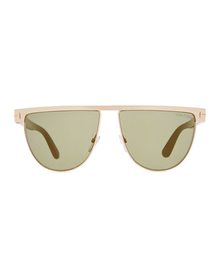 Men's Stephanie Metal Sunglasses