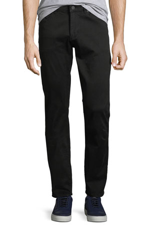 DL 1961 Men's Russell Slim-Straight Jeans, Coal