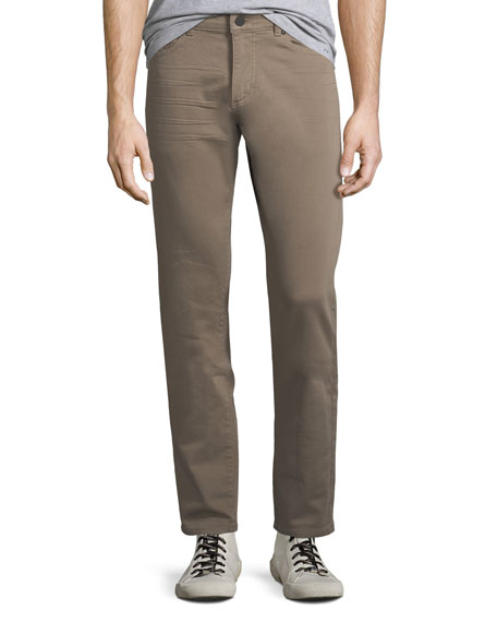 Men's Russell Slim-Straight Jeans, Beige