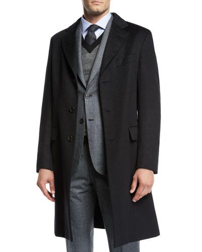Men's Cashmere Car Coat