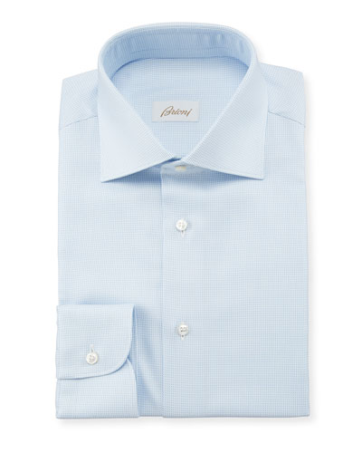 Men's Tic Check Dress Shirt