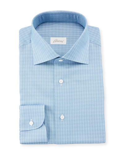 Men's Tonal Check Dress Shirt
