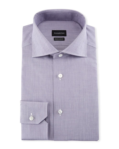 Ermenegildo Zegna Men's Trofeo Comfort Dress Shirt