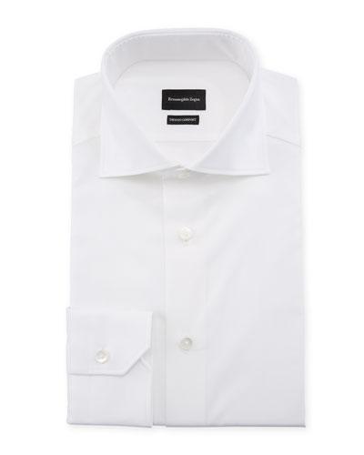 Men's Trofeo Comfort Dress Shirt, White