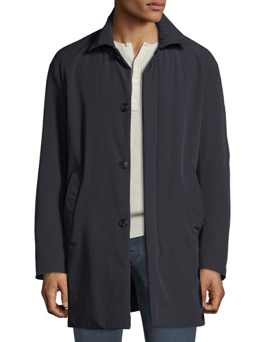 Men's Lightweight Techno Car Coat
