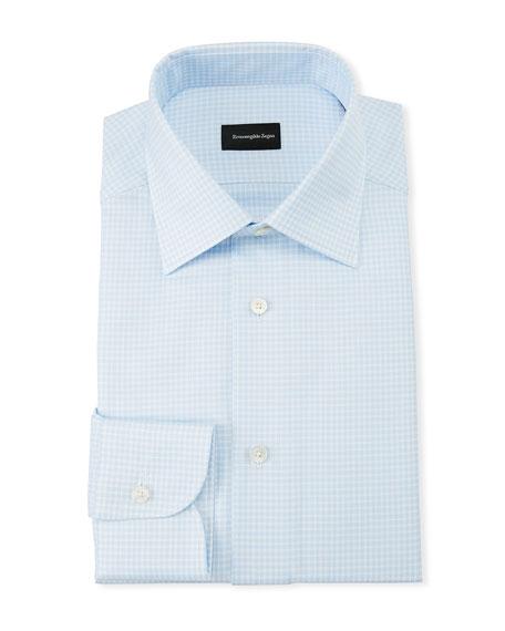 Men's Gingham Dress Shirt