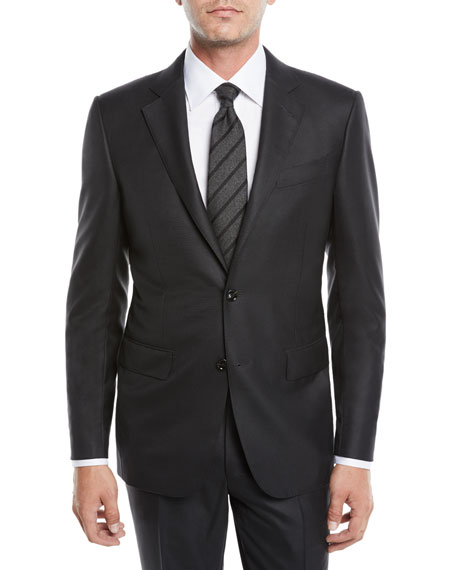 Men's 15Mil Tonal Check Suit