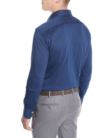 Men's Knit Sport Shirt