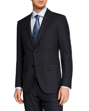 6da9e7c9be03 Ermenegildo Zegna Men s Prince of Wales Two-Piece Suit