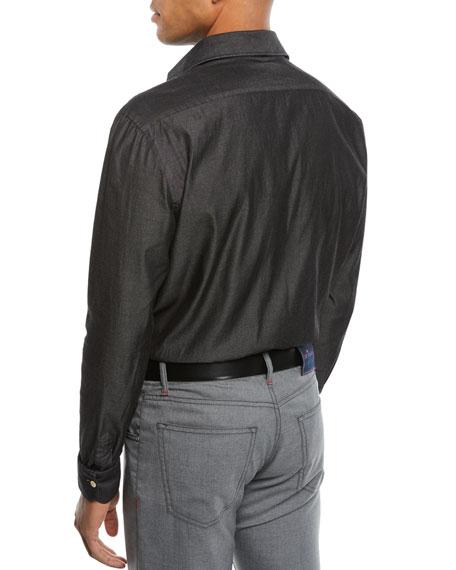 Men's Chambray Sport Shirt