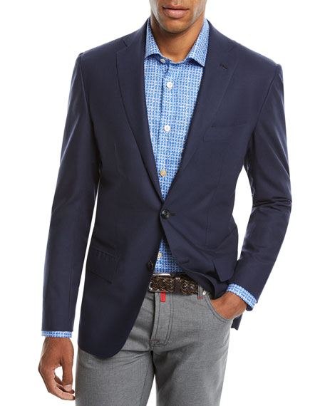 Men's Two-Button Cashmere Sport Coat