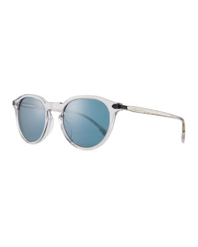 Men's Rue Marbeuf Round Acetate Sunglasses